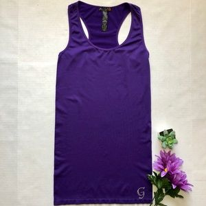 G by Guess Purple Tank Top NWOT Size M/L